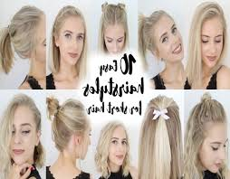 hairstyle at home for short hair new hair style collections