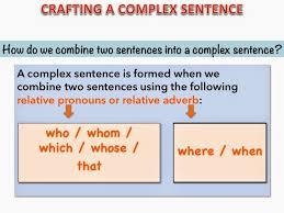 show me don u0027t tell me complex sentences relative pronouns u0026 adverbs