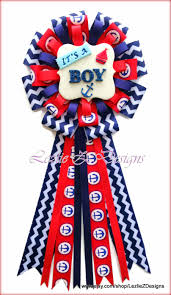 nautical anchor baby shower corsage it u0027s a boy pin mommy