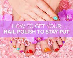 6 ways to make a mani and pedi last longer