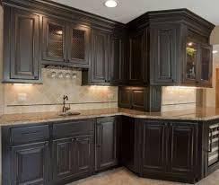 Kitchen Cabinets Lighting Black Distressed Kitchen Cabinets 25 Best Black Distressed