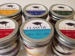 college graduation favors cupcakes in a jar jars college graduation graduation party