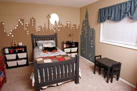 Skyline Wallpaper Bedroom Children U0027s Mural Gallery Bedroom Ideas For Kids See Our Fun And