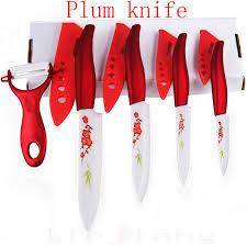 aliexpress com buy beauty gifts zirconia kitchen knives sets