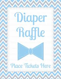 diaper raffle tickets for baby shower little man baby shower