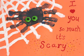 Halloween Decorations For Preschoolers - easy handprint spider craft for halloween mommy u0027s bundle