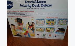 vtech table touch and learn vtech touch and learn activity table classified ad games toys