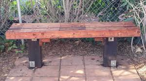 diy garden bench made with 2x4s sage u0027s acre the good life