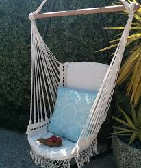 furniture brazilian hammock with wooden curved hammock stand and