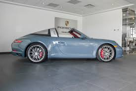 porsche graphite blue 2017 porsche 911 targa 4s for sale in colorado springs co 17169