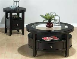coffee table sets with storage round coffee and end table sets walmart glass coffee table sets