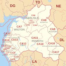 Cambria Ca Map Ca Postcode Area Wikipedia