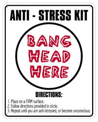 Desk Signs For Office Anti Stress Kit Sign Desk Signs Office Desk Toys