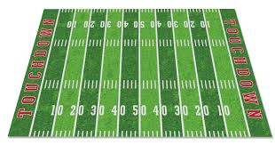 Football Field Area Rug Wonderful Football Field Area Rug With Cozy Ideas Football Field