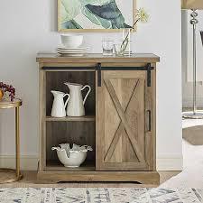 barn door for kitchen cabinets rustic oak sliding barn door cabinet