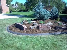 decorative landscape borders installer of concrete landscape