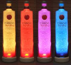 Led Light Bar Color Changing by Ciroc Red Berry Vodka Color Changing Remote Controlled Eco