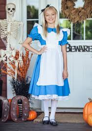 alice in wonderland costume spirit halloween storybook u0026 fairytale costumes kids fairy tale character