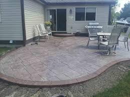 Backyard Cement Ideas Large And Beautiful Photos Photo To Select Cement Backyard Cement
