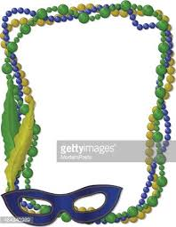 mardi gras picture frame mardi gras frame with mask stock vectors clipart me