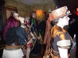 the art of steampunk halloween in nola article by ruby ruin