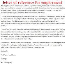 cover letter job embassy