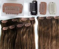 hair clip extensions on hair extension in hair extension human hair