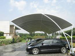 Metal Car Awning Manufacturer And Exporter Of Tensile Structures Ludhiana Tensile