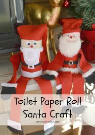 Nutcracker Crafts For Kids - toilet paper roll santa craft beauty through imperfection