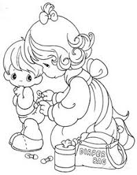 coloring print outs precious moments mothers coloring 17552