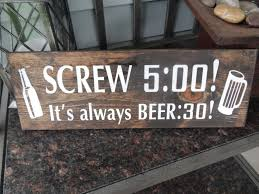 custom funny beer quote sign with beer clipart u0027screw