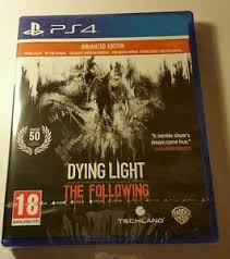 dying light playstation 4 dying light the following enhanced edition ps4 new sealed uk pal