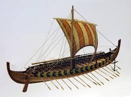 gokstad viking longship the model shipwright