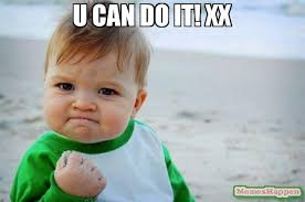 Meme Xx - u can do it xx meme success kid original 62911 memeshappen