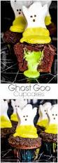 Halloween Cupcakes Ghost Craveyard Halloween Party Home Made Interest