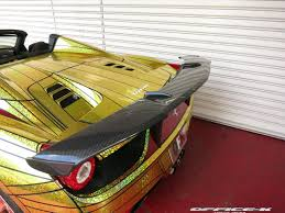cars ferrari gold overkill ferrari 458 italia u0027golden shark u0027 by office k gtspirit