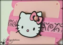 Hello Kitty Birthday Invitation Card Jingvitations Hello Kitty Card Birthday Invitations