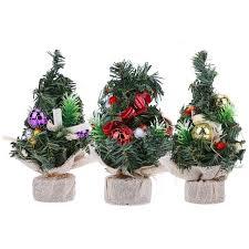 1 pcs mini trees decorations a small pine tree