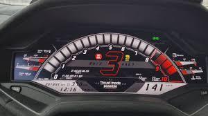 lamborghini huracan speedometer lamborghini huracan performante 0 220 km h launch control youtube