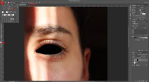 black eyes in photoshop design bundles