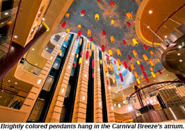carnival ship themes design theme out but fun intact aboard carnival breeze travel weekly