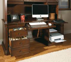 Cherry Computer Desk With Hutch Cherry Creek Computer Credenza U0026 Hutch By Hooker Furniture Home