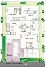 2 Bhk Home Design Layout Simplex Floor Plans Simplex House Design Simplex House Map