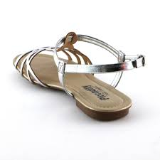 silver sandals for women 573 002 u2013 simply shoes hong kong