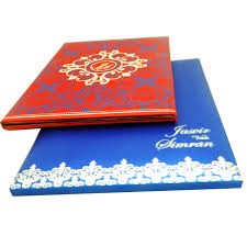 the wedding cards indian wedding cards box type padded