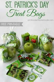 st patrick u0027s day treat bags hoosier homemade