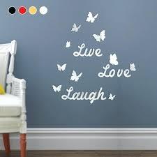 home decor love love mirror wall art live love laugh mirror wall stickers quotes