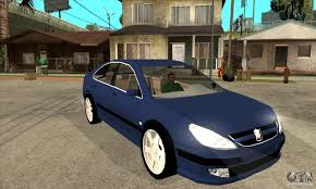 peugeot 607 coupe peugeot 607 for gta san andreas
