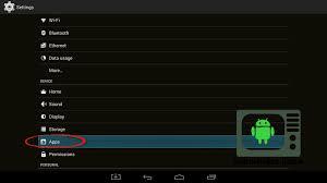 xbmc apk android how to install kodi v 16 1 android tv box
