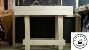 Simple Work Bench Simple Work Bench Youtube